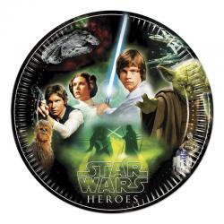 Assiettes Anniversaire Star Wars pas cher