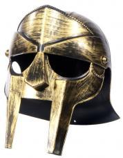 casque medieval vieil or