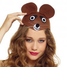 coiffe d ours pour adulte
