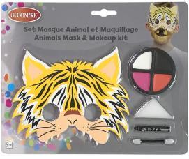 kit maquillage tigre pour enfant