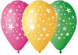 Ballons étoiles multi
