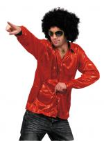 Déguisements Chemise Night Fever Rouge