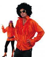 Déguisements Chemise Disco Orange