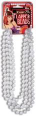 collier perles blanches charleston