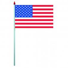 sachet de 10 drapeaux usa plastique