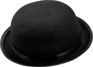 chapeau melon noir