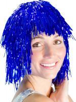 Perruque Métal Bleue