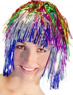 Perruque Métal Multicolore