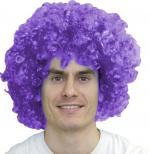 Déguisements Perruque Pop Violette Super Luxe