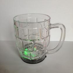 Chope de bière lumineuse