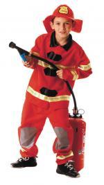Déguisement Pompier US garçon