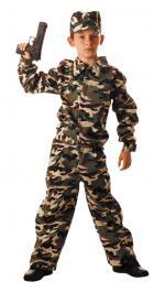 Déguisement militaire camouflage