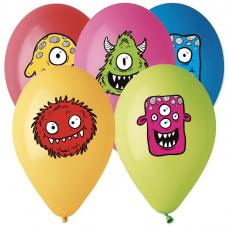 ballons motif monster friends