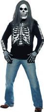 tee-shirt squelette homme