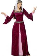 deguisement medieval marion pourpre