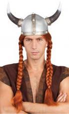 perruque guerrier gaulois longues tresses