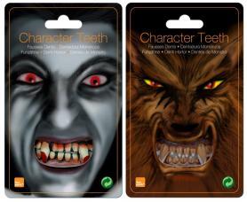 Dents d'horreur adulte PVC