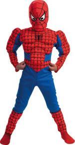 Déguisement Spiderman Enfant Musclé