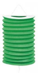 Lampion vert 16 cm ignifugé pas cher