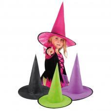 Chapeau Sorcière Enfant de différentes couleurs