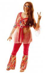 Déguisement Femme Hippie Fleur