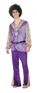 Déguisement Homme Woodstock Hippie