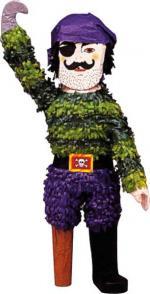 Pinata Pirate Jambe de Bois