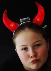 cornes de diable lumineuses