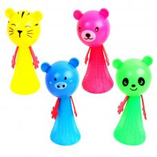 jouet animal sauteur 10 cm