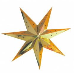 Lanterne étoile or pas cher