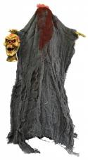 squelette habillé tête coupée