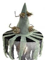 Déguisements Chapeau Sorcière avec Tissu et Rats Poilus
