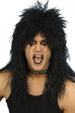 Perruque Hard Rocker Noire