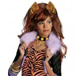 Perruque licence Monster High Luxe Clawdeen Wolf