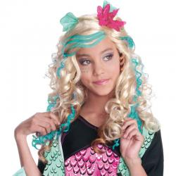 Perruque licence Monster High Luxe Lagoona Blue