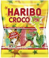 mini sachet de bonbons croco pik haribo