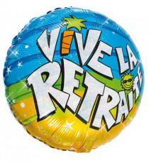 ballon helium vive la retraite