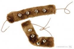 Bracelets Fourrures Indienne pas cher