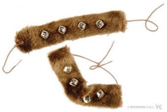 bracelets fourrures indienne
