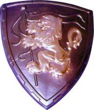 bouclier plastique medieval