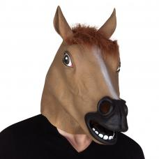 masque cheval en latex