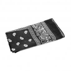 foulard cow-boy noir