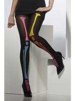 Déguisements Collant Squelette Multicolore