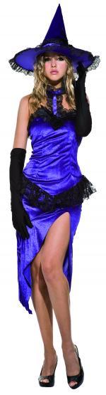 Déguisement Sorcière Lila Halloween Femme