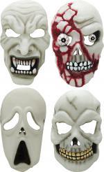 Masque Halloween Phosphorescent pour adulte