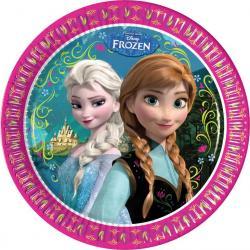 Assiettes Anniversaire Princesse Frozen pas cher