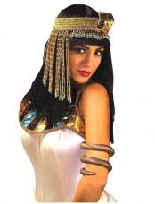 coiffe egyptienne a perles
