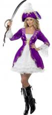 deguisement beaute pirate violette