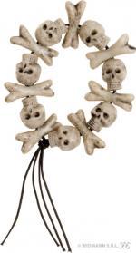 Déguisements Bracelet Têtes de Mort