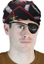 Déguisements Poche oeil pirate tête de mort